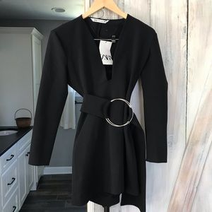 Zara Belted Dress